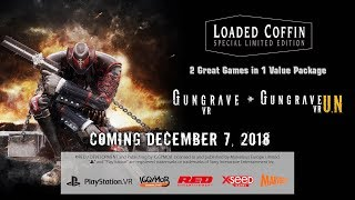 GUNGRAVE VR - Loaded Coffin Edition - Release Date Announcement Trailer (PLAYSTATION 4)