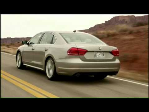 All new 2012 Volkswagen Passat Driving Scenes  - US Version