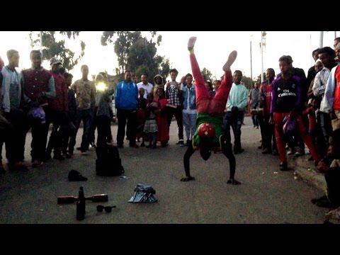 Talented Arega Performs Circus In Addis
