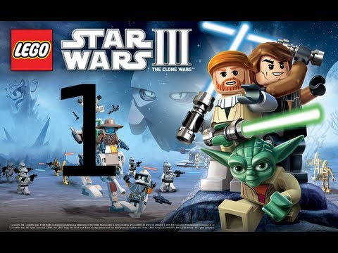 Let´s Play LEGO Star Wars 3 The Clone Wars  #001 - Die Geonosianische Arena [HD][Deutsch/German]