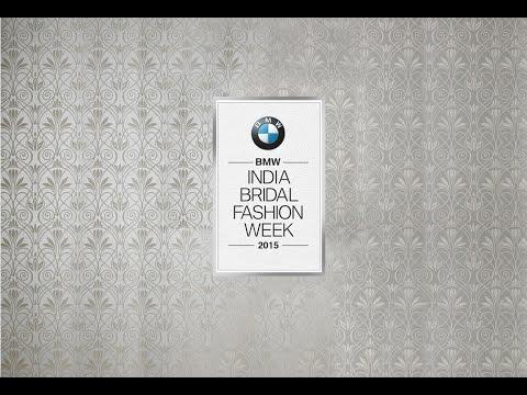BMW India Bridal Fashion Week 2015. Curtain Raiser.