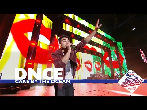 DNCE - 'Cake By The Ocean' (Live At Capital's Jingle Bell Ball 2016)