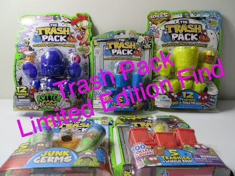 Limited Edition Pull Unboxing Series 3 4 5 6 7 Junk Germs Opening Toy Review