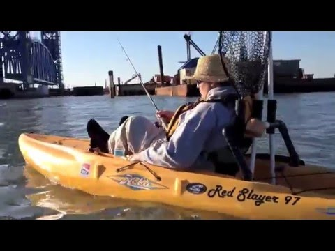Kayak Night Fishing The Galveston Causeway