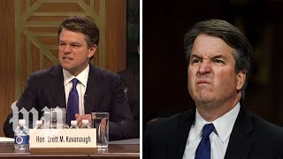 SNL's Kavanaugh hearing vs. the real thing