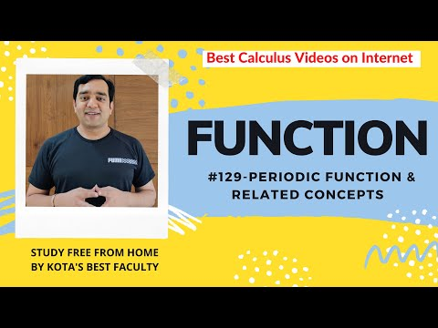 Iit Jee-function-part129 - Mathematics-periodic Functions video