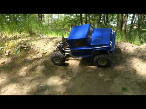 RC truggy - test sound system