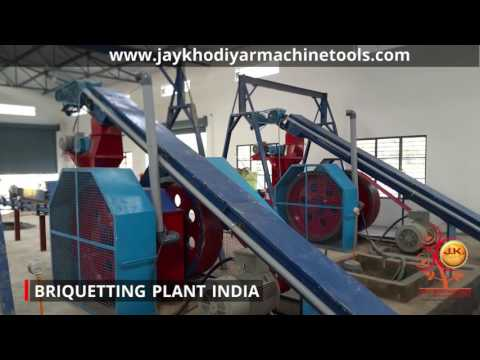 What is Briquetting, Briquetting Plant for sale