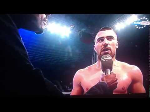 Racist Fighter Andrei Stoica vs Reduan Cairo post fight interview
