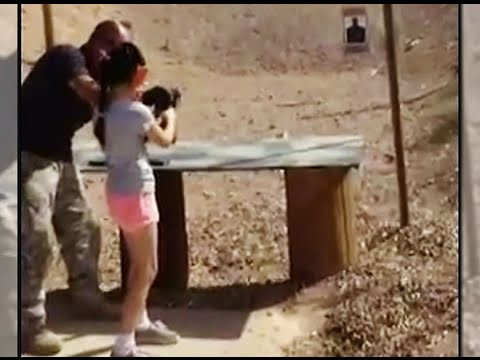 9-year-old Accidentally Kills  With Automatic Weapon video