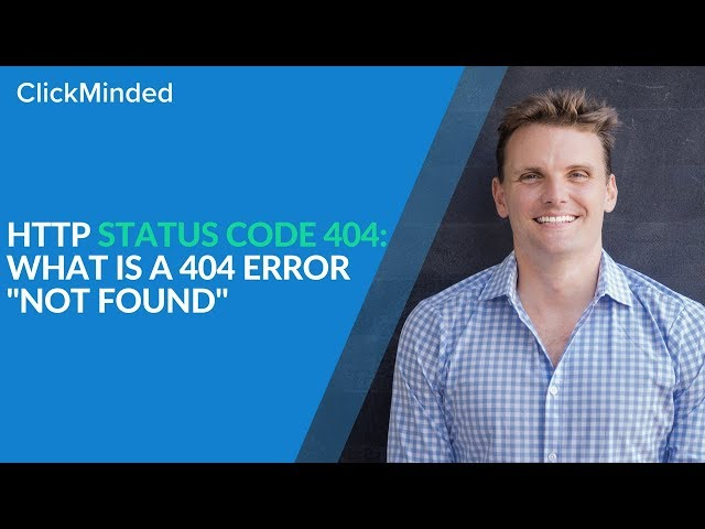 """HTTP Status Code 404: What Is a 404 Error """"Not Found"""" Response Code? thumbnail"""