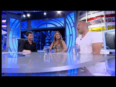 El Hormiguero (26/04/11) Vin Diesel y Elsa Pataky (2/4)