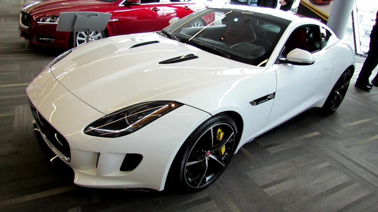 2015 Jaguar F Type R Coupe Exterior And Interior