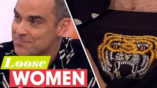 Robbie Shows Off His Tiger Pants! | Loose Women