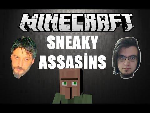 Minecraft Türkçe Multiplayer | Sneaky Assasins