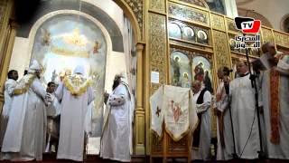قداس عيد القيامة المجيد بكنيسة الأنبا بيشوي بالإسماعيلية