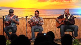 """Drop Baby Drop"" @SlackKeyShow Sean Na'auao Jam Session"