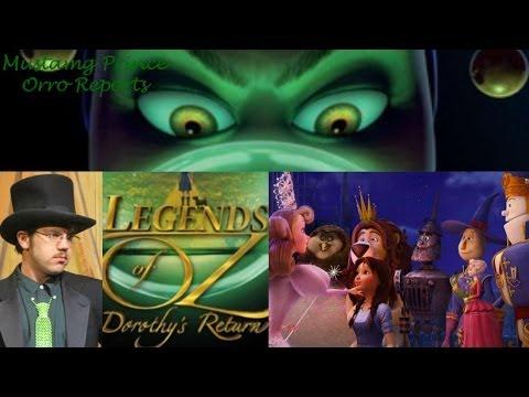 Joshua Orro's Legends of Oz: Dorothy's Return blog