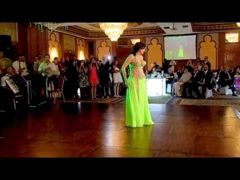 The belly dancer Dina at my cousin wedding-Marriott Zamalek 10 May 2013