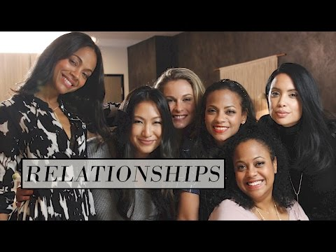 Rosé Roundtable I Zoe Saldana, Nikki Baker and Mirtha Michelle Talk Relationships