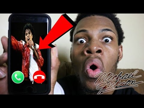 CALLING MICHAEL JACKSON IN REALLIFE AND HE ANSWERED *OMG HE IS ALIVE!!!!!!*
