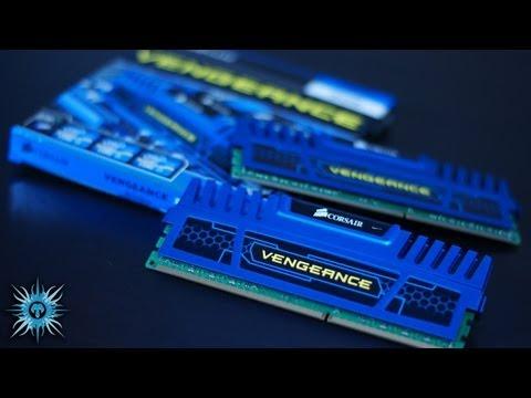 [HD] Corsair Vengeance DDR3 RAM Unboxing (Cerulean Blue)