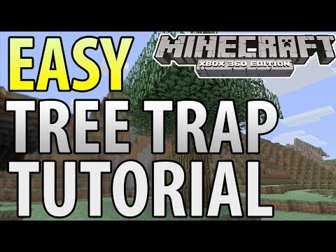 Minecraft (Xbox 360/PS3) - TU14 - EASY EXPLODING TREE TRAP - TUTORIAL klip izle