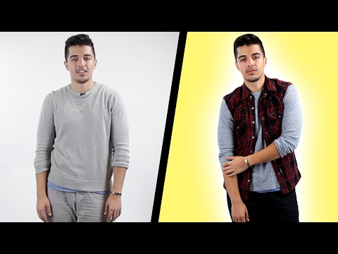 Guys Get A Makeover By A Professional Stylist