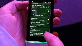Sony Xperia U hands-on video
