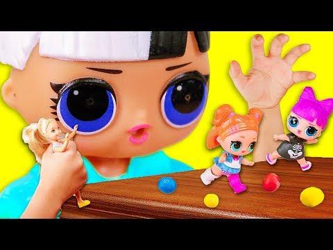 УМЕНЬШИЛА СЕСТРУ ЛОЛ! Мультики куклы лол и Барби. Подруги Буги Вуги