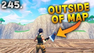 LEFT OUTSIDE OF MAP..!! Fortnite Daily Best Moments Ep.245 (Fortnite Battle Royale Funny Moments)