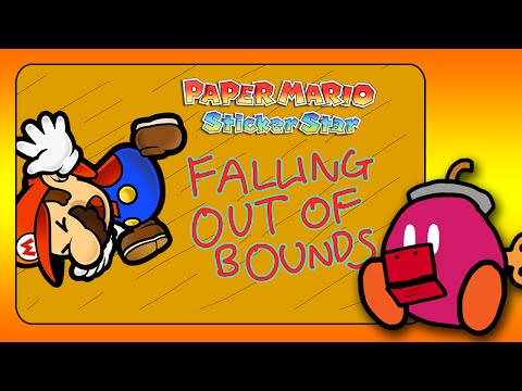 Paper Mario Sticker Star: FALLING OUT OF BOUNDS GLITCH!