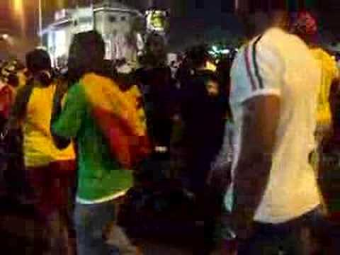 Ghana vs Nigeria post match madness Video