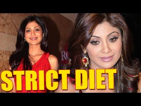 Shilpa Shetty Takes EXTREME Diet Measures