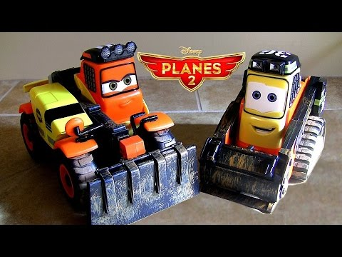 Talking Pinecone & Talking Drip Disney Planes Fire & Rescue 2-pack Planes2 Trucks Disneystore