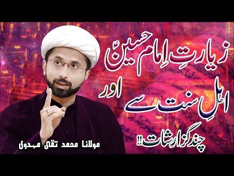 Zayarat-E-Maula Hussain (a.s) Pr Aitarazaat Ka Jawab !! | H.I Muhammad Taqi Mehdavi | 4K