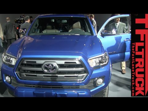 2016 Toyota Tacoma TRD Pickup Revealed at the Detroit Auto Show