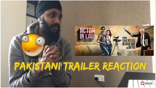 Actor In Law Pakistani trailer reaction
