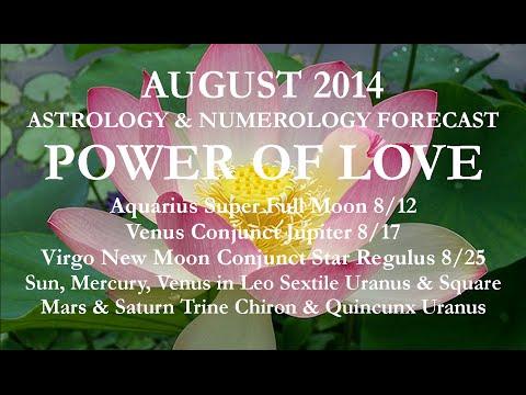 AUGUST 2014 ASTROLOGY thru VIRGO NEW MOON by KG Stiles