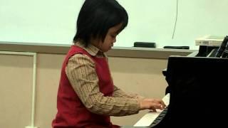 Saya's Suzuki book2 recital