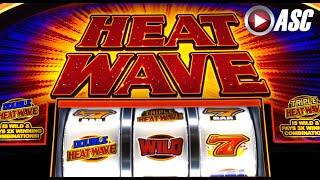 *NEW* HEAT WAVE | WMS - LIVE PLAY & Slot Machine Bonus Feature (25¢)