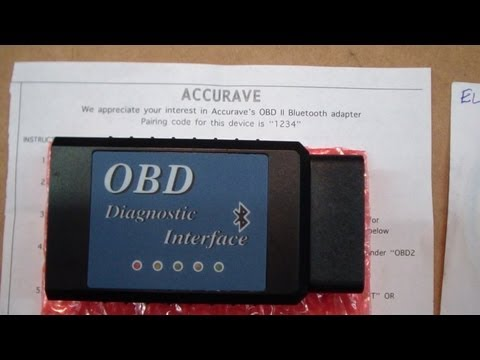 AccuRave ELM327 OBDII Diagnostic Code Reader Review