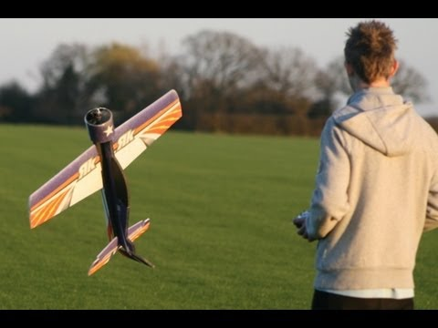 RC FACTORY YAK 54 + FLASH 3D AEROBATICS,DEAN + ANDREW