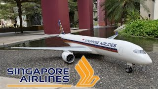 RC Airbus A350 XWB Singapore Airlines Rollout (scratch build)