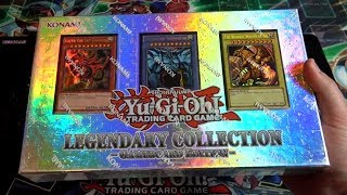 Yugioh Legendary Collection Gameboard Edition Opening - Legend of Blue-Eyes & God Cards!