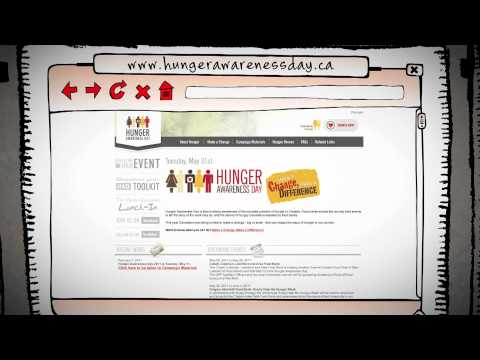 Food Banks Canada Hunger Awareness Day Video 2011