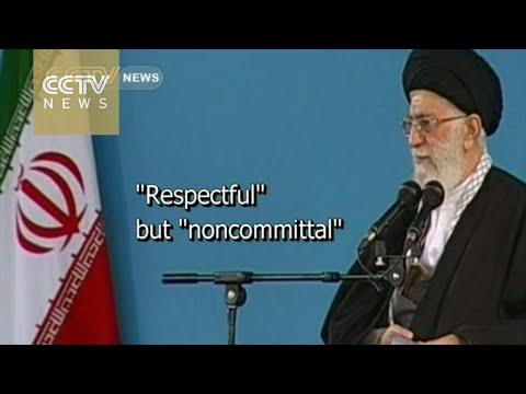 Iran's supreme leader sends secret letter to Obama