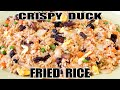 How to make AMAZING Chinese Roast DUCK Fried Rice!! - The Wolfe Pit