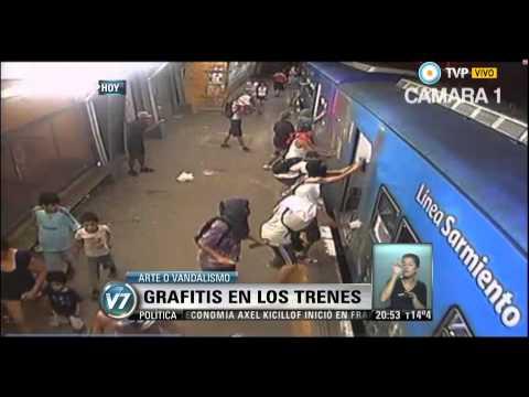 Visión 7 - Grafitis en los trenes