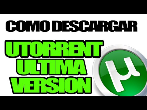 Descargar Utorrent 3.4 Ultima Version Español 2014 Full Para (Windows 8, 7 y XP)